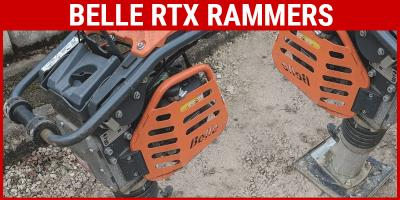 Belle RTX50 vs RTX60 Trench Rammers