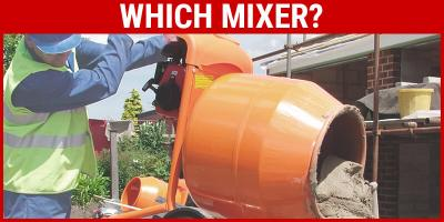 Types of Portable Cement Mixer